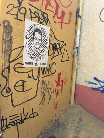 The Original Bogota Graffiti Tour: Poster