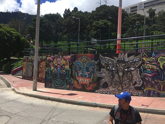The Original Bogota Graffiti Tour: The park