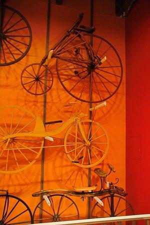 Science Museum Oklahoma: bicycles