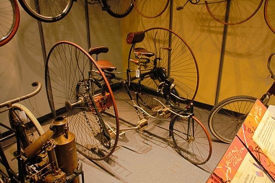 Science Museum Oklahoma: original adult tricycle
