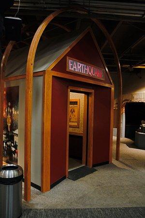 Science Museum Oklahoma: earthquake simulator
