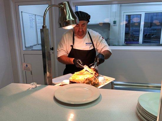 Bahiazul Villas & Club: head chef at the restaurant