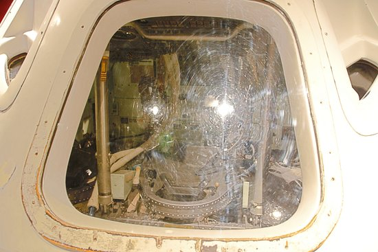 Science Museum Oklahoma: interior view of simulator