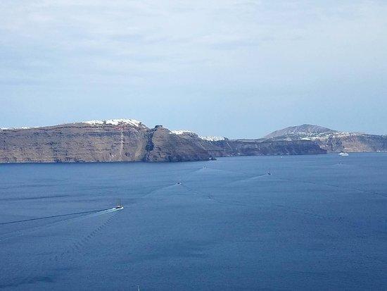 Byzantine Castle Ruins: View