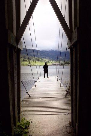 Giron, Ekwador: Muelles rústicos