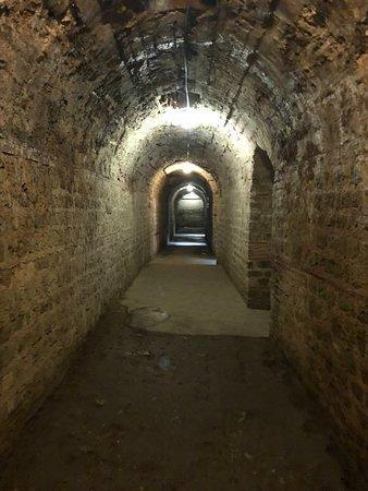 Kaiserthermen, unterirdische Anlagen