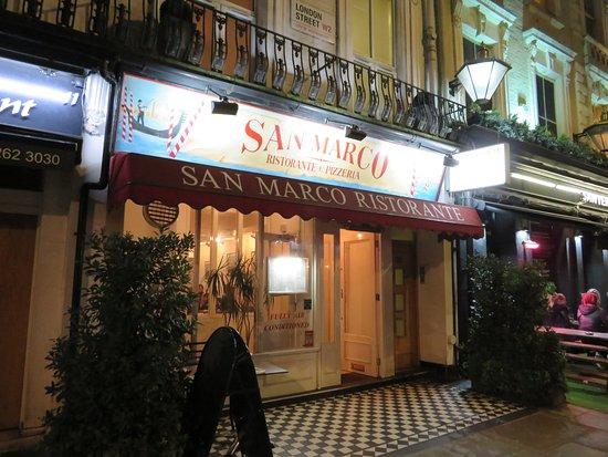 San Marco Ristorante & Pizzeria: Store Front