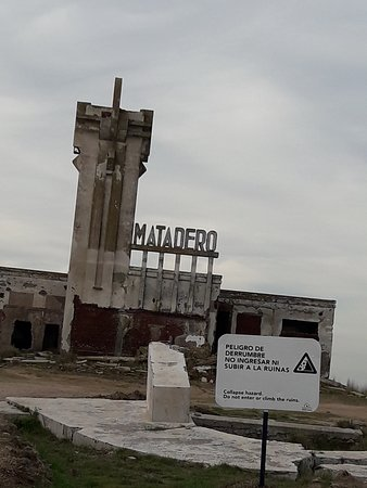 El Matadero: Matadero cercano a la laguna Epecuen.