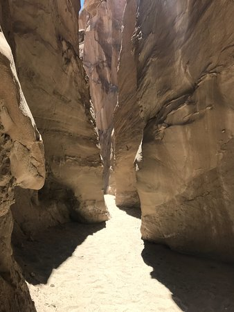 California Overland Desert Excursions: The Slot Canyon Was Amazing!