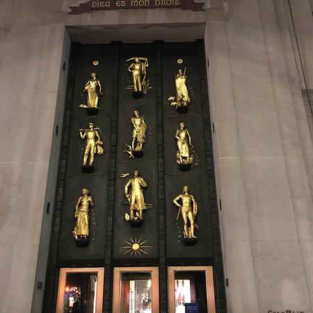 Nueva York, Estado de Nueva York: New York by night 👍💗 👏  Rockfeller Center, 5 th Avenue