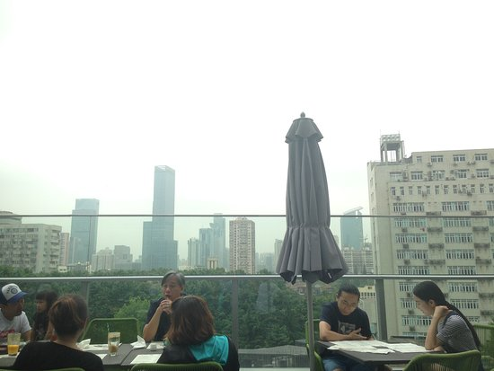Bang-A Restaurant by Mr. Willis: Terrace