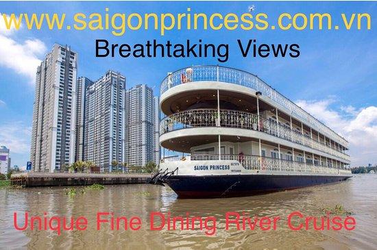 Saigon Princess - Unique Luxurious Dining Cruise : QUEEN of the Saigon River