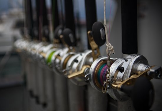 O'Fish'ial Charters of Alaska: Quality Rods and Reels