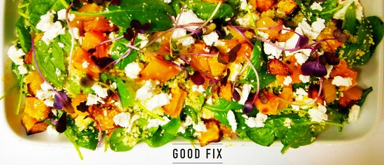 Good Fix South: Roast Pumpkin Couscous