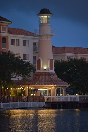 Marriott's Grande Vista: This is the lighthouse in the middle of the resort.