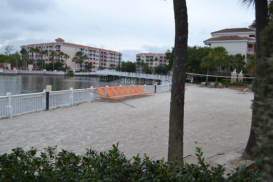 Marriott's Grande Vista: You can get S'mores one night here at the beach.