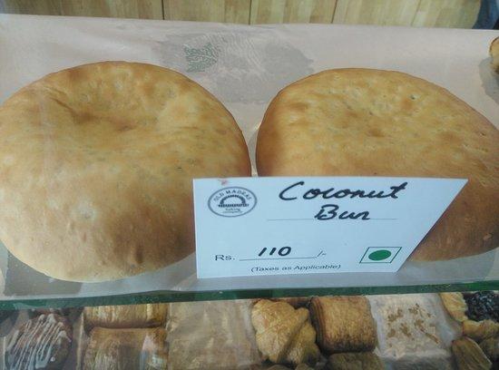 The Old Madras Baking Company: Coconut Bun