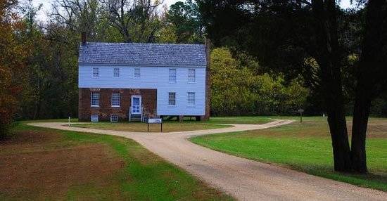 Cold Harbor Battlefield Park & Garthright House