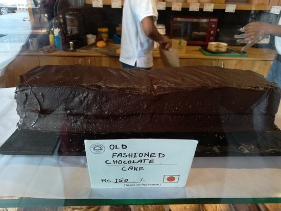 The Old Madras Baking Company: Old Fashioned Chocolate Cake