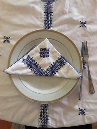 Maison d'Hotes Sahara: Gorgeous linens