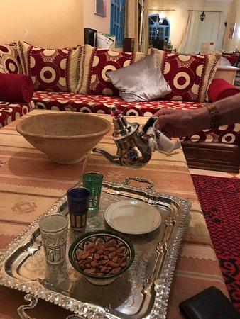 Maison d'Hotes Sahara: Tea