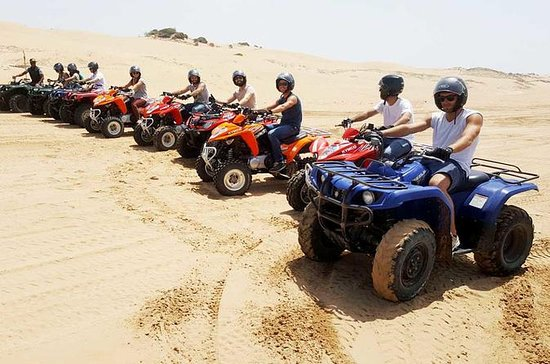 2h off-road ATV quad bike on the...