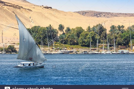 Felucca Nile trip at Luxor