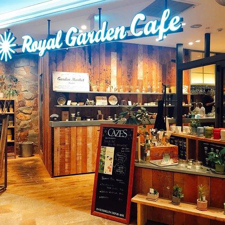 サラダ 豊島区 ロイヤルガーデンカフェ 目白店の写真 トリップ