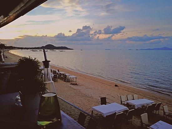 Yin Yang Restaurant: Sea view
