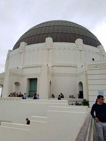 Observatoire Griffith: Observatory on back deck.