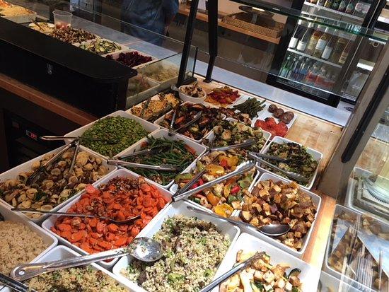 Zinc Cafe & Market: Salad Bar - too many awesome choices!