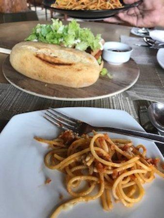 The Farm at San Benito: veggie meals