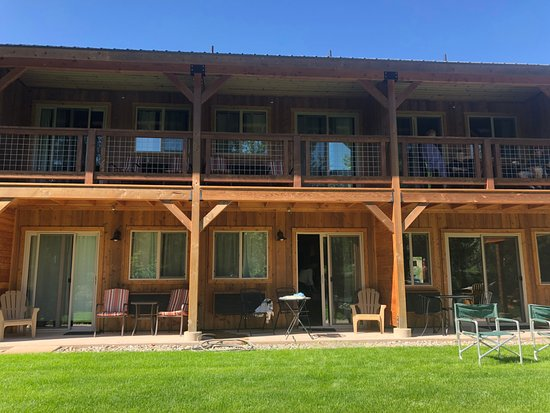 Methow River Lodge & Cabins: Our room