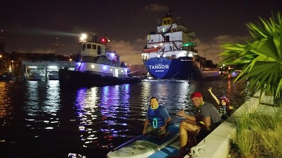 So Flo Water Adventures: Miami River Night Paddle Experience