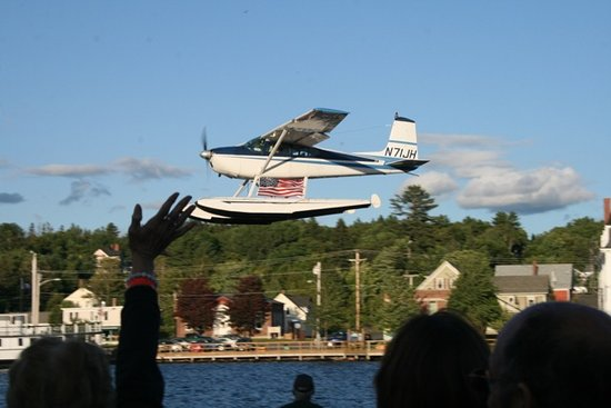 Jack Hofbauer's Memorial Day Fly-By over Greenville, Maine