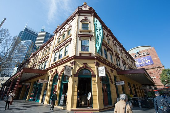 Palace Hotel Sydney since 1877: Corner George and Hay St