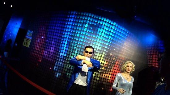 Museu de Cera Dreamland: oppa gangnam style