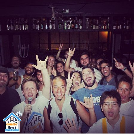 The Comedy House Bangkok: A selfie after a sold-out show! This crowd was amazing we love them