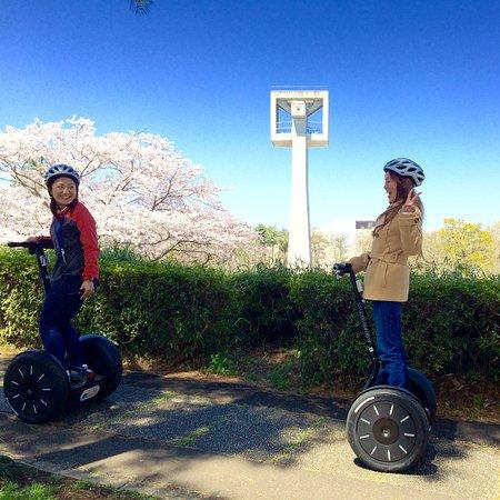 Segway City Guide Tour in Tsukuba: 坂道だって楽々登れちゃいます。