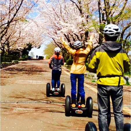Segway City Guide Tour in Tsukuba