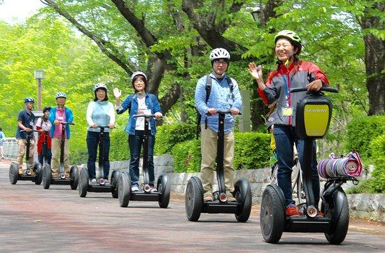 Segway City Guide Tour in Tsukuba: 新緑の時期も気持ちが良いです。