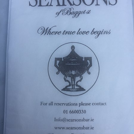 SEARSONS of Baggot St.