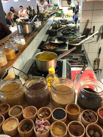 La Pente Douce: La cuisine