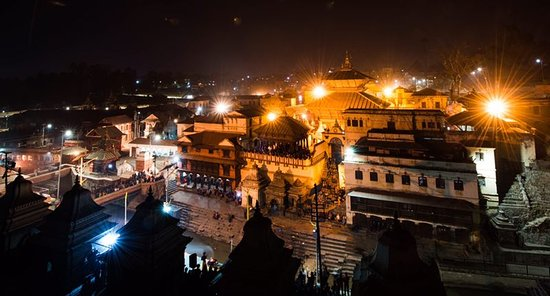 Ocean to Sky Adventures : One of Holy temple in Kathmandu Pashupatinath