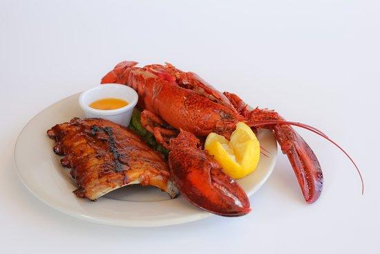 Tony Roma's : Live Lobster and Babyback Ribs Combo