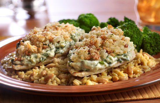 Tony Roma's: Chicken Spinach Stack