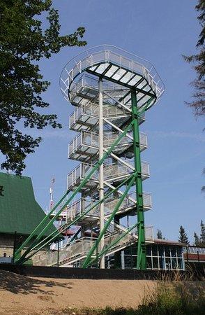 Bielsko-Biala, Polônia: Wieża widokowa Ziad Tower