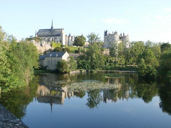 Montreuil-Bellay, França: vue du,pont napoléon