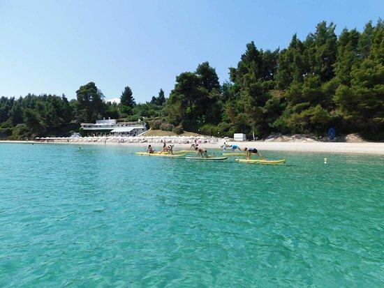 Agora Beach : Sup Yoga Sundays! Join in now!