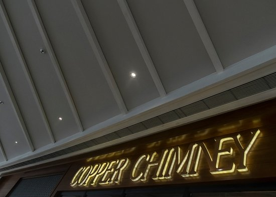 Copper Chimney: Third Floor - Fine dinning, Gaming, and so much more!